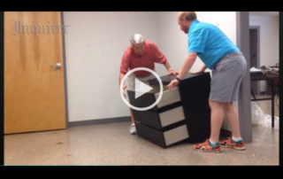 Malm dresser tip-over video test from the Inquirer